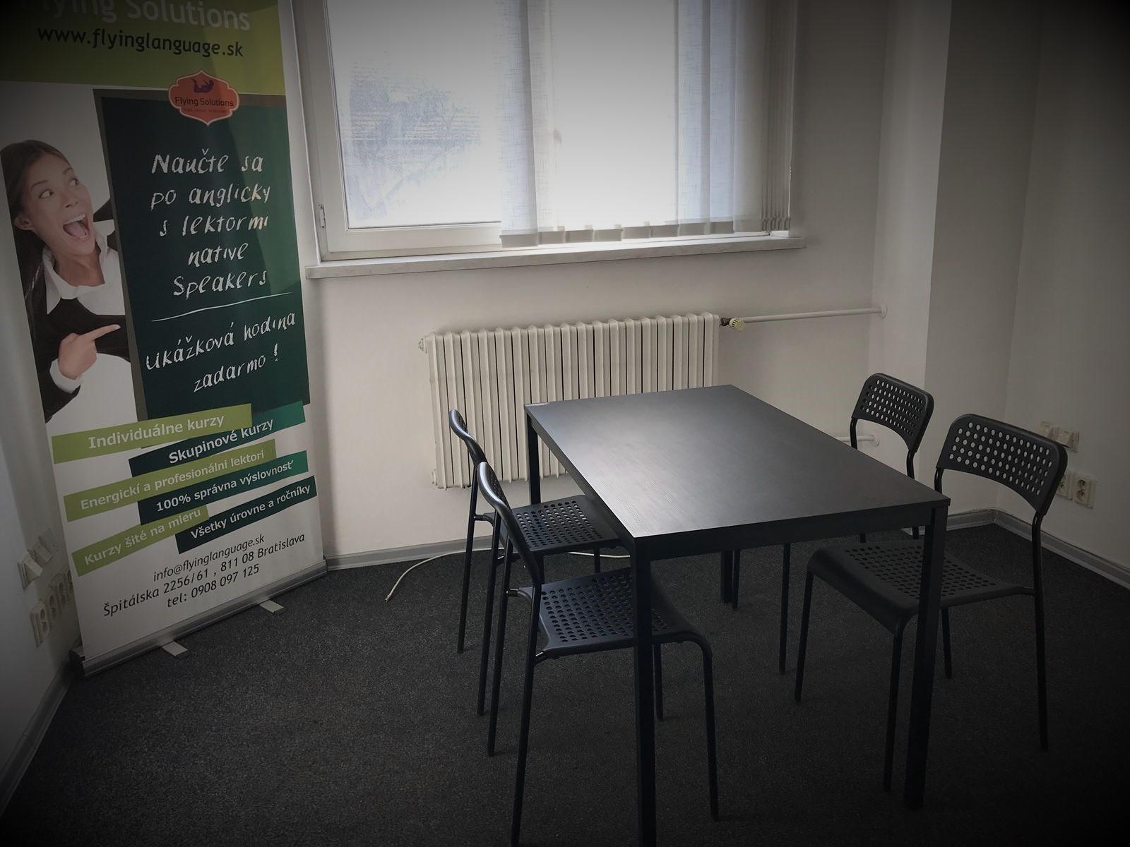 jazykova skola Bratislava ucebna pre individualne kurzy a male skupiny studentov